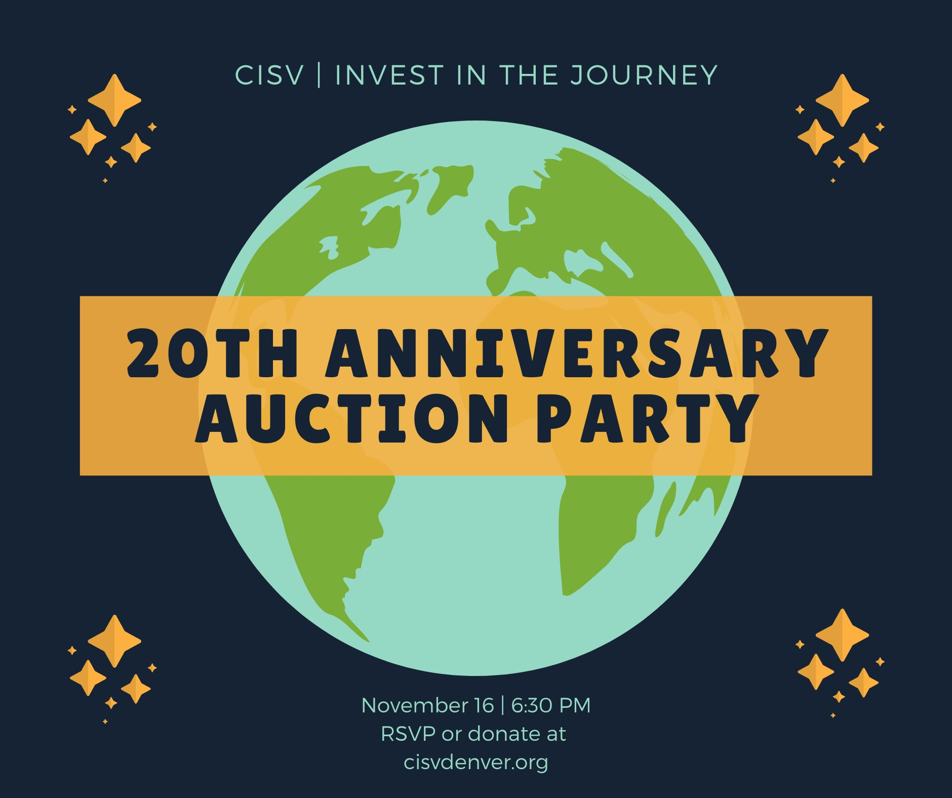 November 2019. Annual Fundraiser and 2020 Program Unveiling